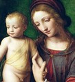 The Virgin and Child with a Columbine 2 - Bernardino Luini
