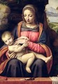 The Virgin and Child in a Landscape - Bernardino Luini