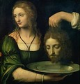 Salome with the Head of St John the Baptist - Bernardino Luini