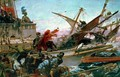The Naval Battle of Lepanto waged by Don John of Austria - Juan Luna y Novicio