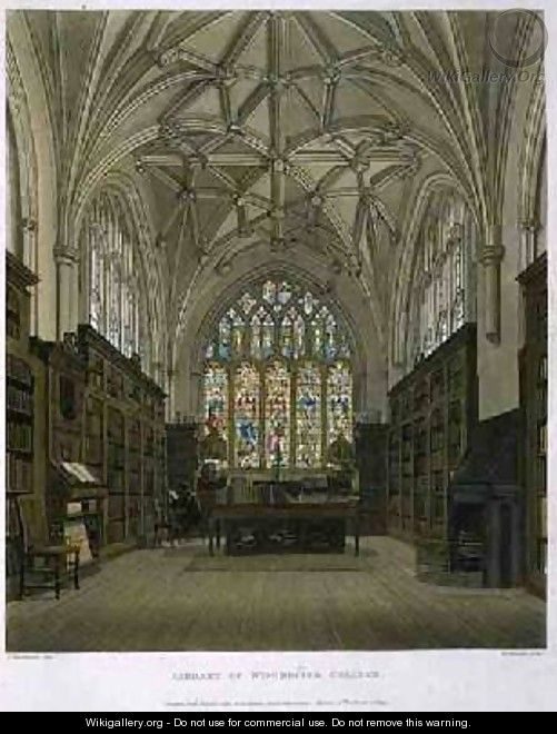 Library of Winchester College - Frederick Mackenzie