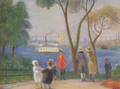 Carl Schurz Park New York 1922 - William Glackens