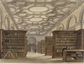 Interior of the Public Library Cambridge - Frederick Mackenzie