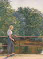 Boy Fishing 1929 - Lilla Calbot Perry
