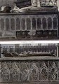The Tombs of Queen Philippa and Queen Eleanor - Frederick Mackenzie