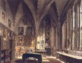 Interior of the Chapter House - Frederick Mackenzie