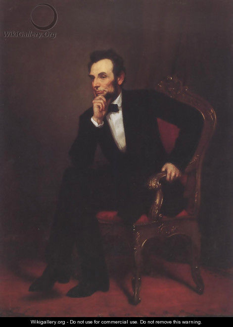 Abraham Lincoln 1869 - George Peter Alexander Healy