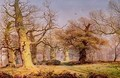 Oak Trees in Sherwood Forest 1877 - Andrew MacCallum