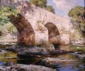 Bridge of Dee Galloway Summer - William Stewart MacGeorge
