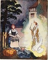 Cinderella with her Fairy Godmother 1926 - Maby