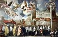 Procession of the Relics of the Holy Brescian Bishops - Francesco Maffei