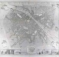 Map of Florence 1783 - Magnelli