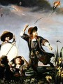 Boys Flying Kites - (attr. to) Maes, Godfried