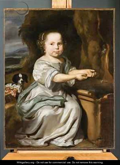 Portrait of a Girl 1664 - Nicolaes Maes
