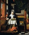 The Virtuous Woman 1655 - Nicolaes Maes