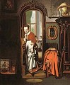 The Listening Housewife - Nicolaes Maes