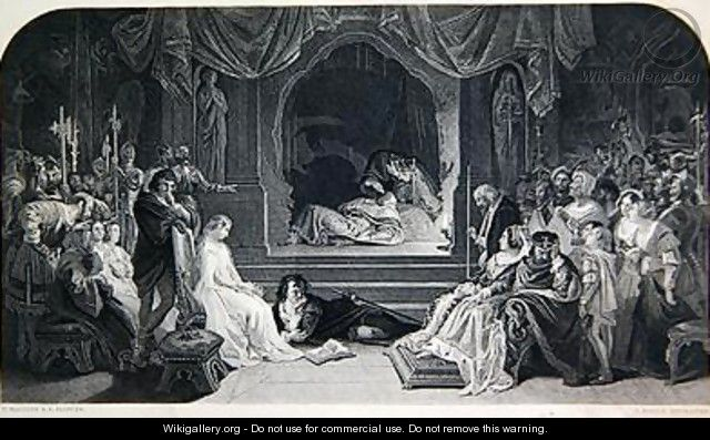 The Play Scene - (after) Maclise, Daniel