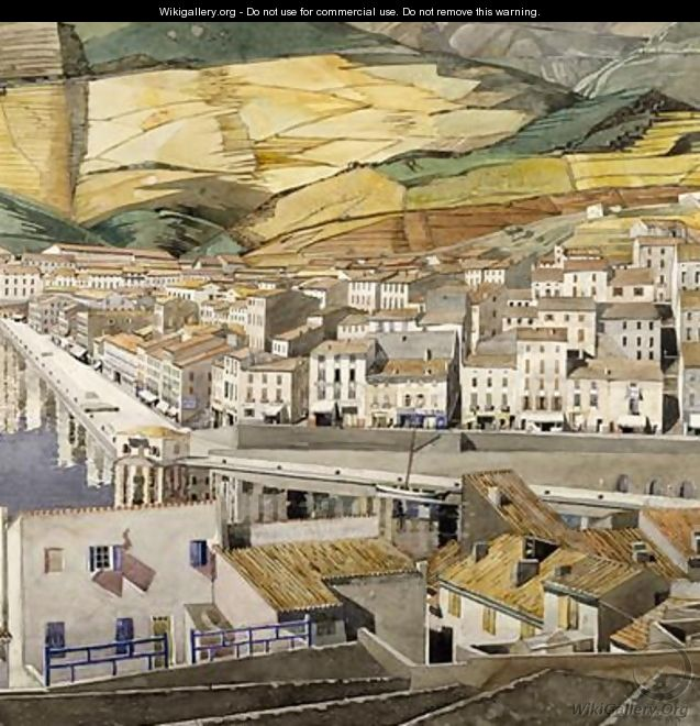 Port Vendres 1856 - Charles Rennie Mackintosh