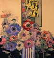 Still Life of Anemones - Charles Rennie Mackintosh