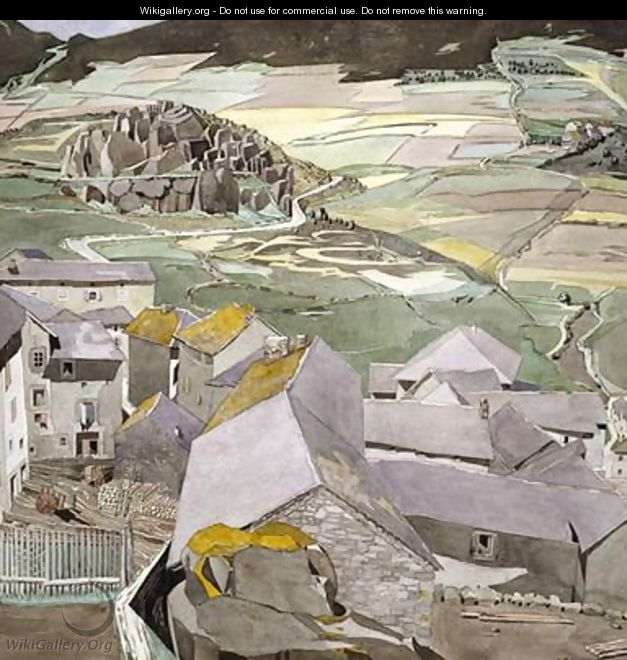 The Village of La Lagonne - Charles Rennie Mackintosh