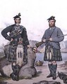 Kilted huntsmen from the Hebrides - Kenneth Macleay