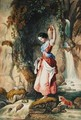 The Waterfall - Daniel Maclise