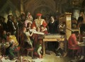 Caxtons Printing Press 1851 - Daniel Maclise