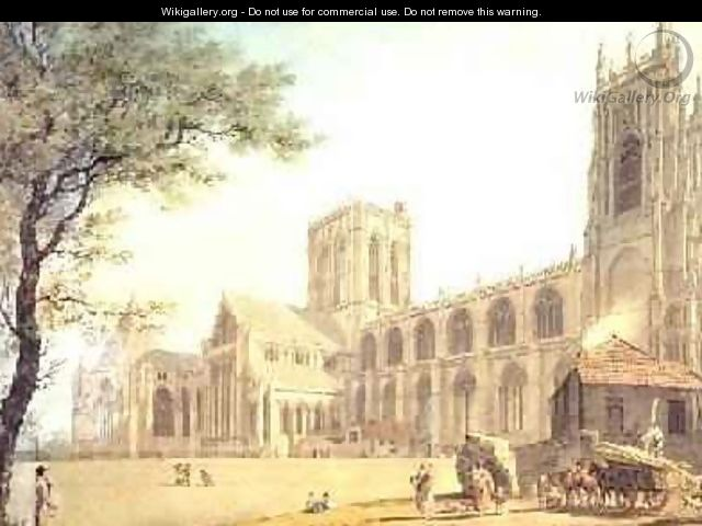 York Minster from the North West 1794 - James Malton