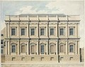 View of the Banqueting House at Whitehall Westminster 1790 - Thomas Malton, Jnr.