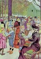 Stamps market in Paris 1897 - Louis Malteste