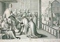 Pope Paul III 1468-1549 Receiving the Rule of the Society of Jesus 1540 - C. Malloy
