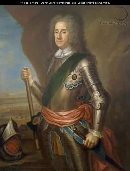 Lord George Hamilton 1666-1737 Earl of Orkney - Martin Maingaud