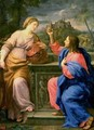Christ and the Woman from Samaria - Carlo Maratta or Maratti