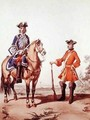 Provost Marshal of the Constabulary and a Member of the Military Police in 1724 - (after) Marbot, Alfred de