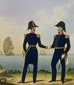 Captains plate 5 from Costume of the Royal Navy and Marines - L. and Eschauzier, St. Mansion