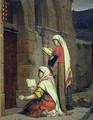 Christian Women at the Tomb of the Virgin - Jean Jules Antoine Lecomte du Nouy