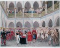 Investiture of the Bey of Algiers by Count Bertrand Clausel 1772-1842 - Theodore Leblanc