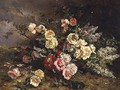 Still life with flowers - Victoire Leclaire