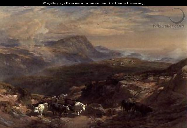 Scene in the Highlands - William Leighton Leitch