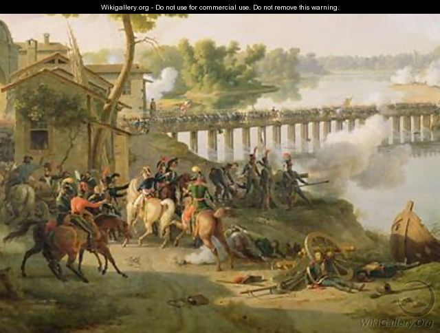The Battle of Lodi - Louis Lejeune