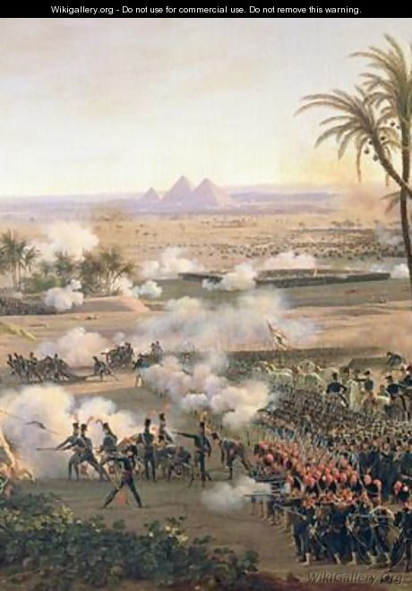 Battle of the Pyramids - Louis Lejeune
