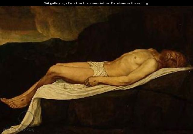 The Dead Christ - Alphonse Legros
