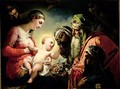 Adoration of the Magi - Henri (Karl Ernest Rudolf Heinrich Salem) Lehmann