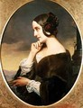 Portrait of the Countess Marie dAgoult 1805-76 - Henri (Karl Ernest Rudolf Heinrich Salem) Lehmann