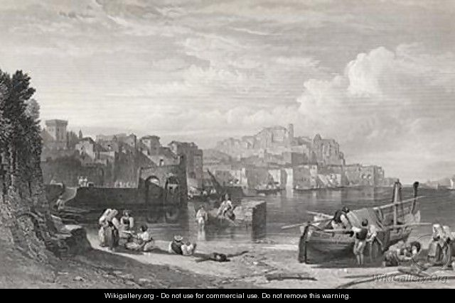 Pozzuoli the Ancient town of Puteoli - William Leighton Leitch
