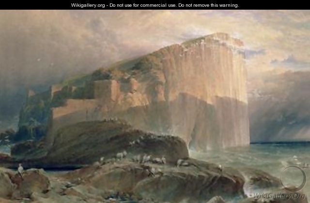The Bass Rock East Lothian - William Leighton Leitch