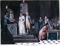Mayor conducting a Republican Marriage during the period of the French Revolution - (after) Legrand