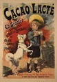 Reproduction of a Poster Advertising 'Gravier's Chocolate Milk - Lucien Lefevre