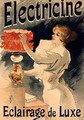 Reproduction of a poster advertising Electricine Luxury Lighting - Lucien Lefevre