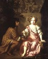Lady Charlotte Fitzroy 1664-1719 later Countess of Lichfield - Sir Peter Lely